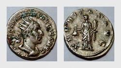 TRAJAN DECIUS Antoninianus, RIC 28b, Ube...