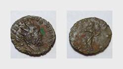 TETRICUS I Antoninianus RIC 100, Pax