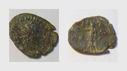 VICTORINUS Antoninianus RIC 117, Pax