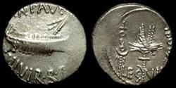 MARCUS ANTONIUS AR Denarius  LEG VII