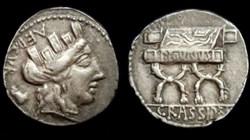P. FURIUS CRASSIPES ROMAN REPUBLIC; GENS...
