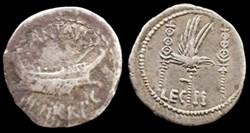 MARCUS ANTONIUS AR Denarius