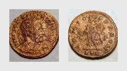MAXIMINUS II AE Follis RIC VI Trier 851a...