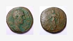 MACRINUS AE 26, of Nikopolis, Nemesis