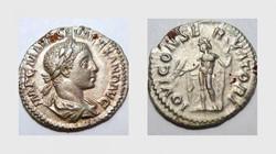 SEVERUS ALEXANDER Denarius, RIC 141, Jup...