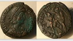 CONSTANTIUS II AE3 RIC VIII 118, FEL TEM...