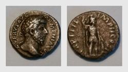 LUCIUS VERUS, Denarius, RIC 529, Mars