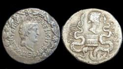 MARCUS ANTONIUS Ionia AR Cistophoric Tet...