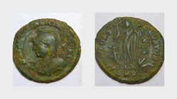 LICINIUS II AE Follis RIC VII 49, Jupite...