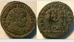 MAXIMIANUS Antoninianus, RIC VI 15b,D, C...