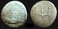 MARCUS ANTONIUS AR Denarius LEG IX