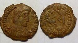 JULIAN II AE3 RIC 382, FELTEMP-REPARATIO