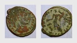 MAXIMINUS II AE24 Follis RIC VI 62, Geni...