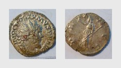 POSTUMUS Antoninianus, RIC 318, Pax