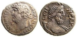 Hadrian Billon Tetradrachm SNG Cop 393, ...