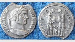 MAXIMIANUS AR Argentus, RIC VI 27b, Four...