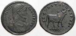 JULIAN II Majorina, RIC VIII 164, Apis B...