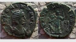 SALONINA Antoninianus, RIC 30, Venus