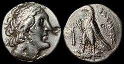 PTOLEMY II PHILADELPHOS AR Tetradrachm