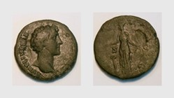 MARCUS AURELIUS Sestertius, RIC 1232, Ju...