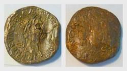 NERVA AE Dupondius RIC 65, Libertas