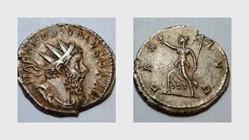 POSTUMUS Antoninianus, RIC 78, Pax