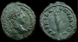 ELAGABALUS AE 18