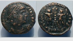 CONSTANTIUS II AE3 RIC VII 44, Gloria Ex...