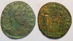 DELMATIUS AE Follis, RIC 153, Gloria Exe...