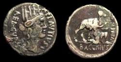 A PLAUTIUS ROMAN REPUBLIC; GENS PLANCIA ...