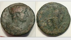HADRIAN As, RIC 616c, Pax