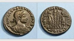 CONSTANTINE II AE3 Follis RIC VII 237, G...