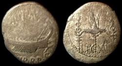 MARCUS ANTONIUS AR Denarius  LEG XII