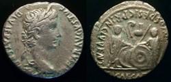AUGUSTUS AR Denarius