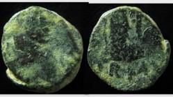 VALENTINIAN III AE4, RIC X 2108, Victory
