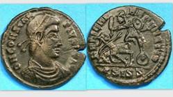 CONSTANTIUS II AE3 RIC VIII 361, FEL TEM...