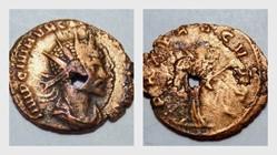 QUINTILLUS Antoninianus, RIC 26, Pax
