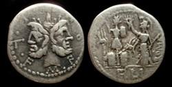 M FURIUS Lf PHILUS ROMAN REPUBLIC AR Den...