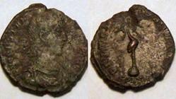 CONSTANTIUS II AE3 RIC VIII 93v, Phoenix