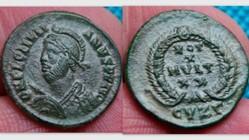 JULIAN II AE3, RIC 130, Vota