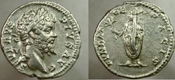 SEPTIMIUS SEVERUS Denarius, RIC 265, Sev...