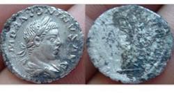 ELAGABALUS Fouree Denarius RIC 150, Feli...