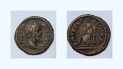 SEPTIMIUS SEVERUS Denarius, RIC 189b, Fo...