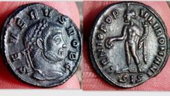 SEVERUS II Quarter Follis RIC VI Siscia ...