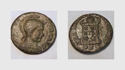 CRISPUS AE3, RIC 401, Alter