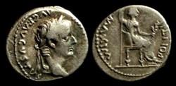 TIBERIUS AR Denarius