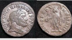 MAXIMIANUS AE Follis RIC VI 148, Genius
