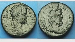 SEPTIMIUS SEVERUS AE17 Assarion, Moushmo...