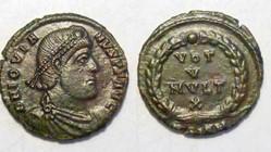 JOVIAN AE2/3 RIC 118b, Vota