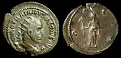 TRAJAN DECIUS AR Antoninianus